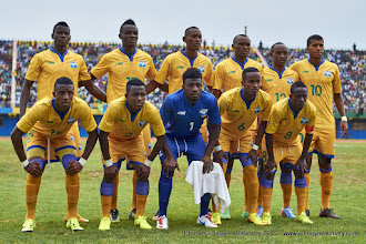 Photo: Amavubi Match Team [Rwanda Vs Ghana AFCON2017 Qualifier, 5 Sep 2015 in Kigali, Rwanda.  Photo © Darren McKinstry 2015]