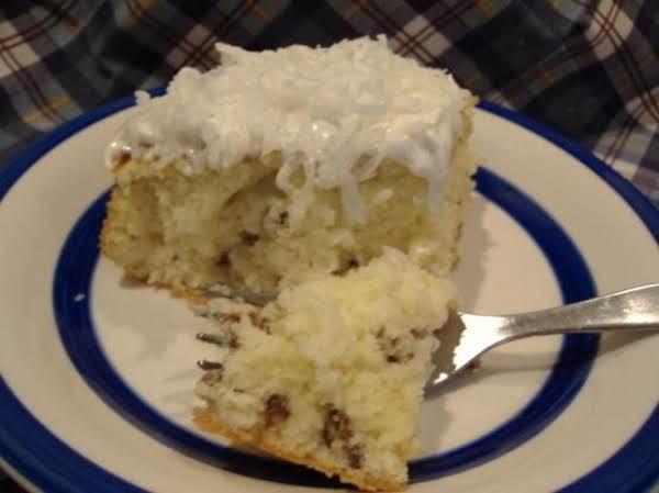 Easy Italian Cream Cake Recipe