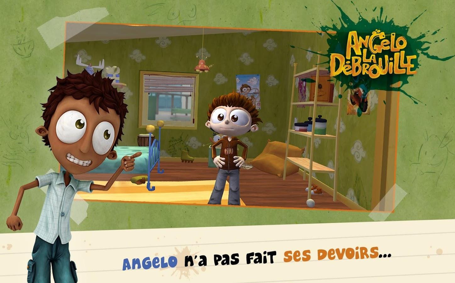 Angelo folle journ e applications android sur google play - Jeux angelo la debrouille ...
