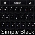 Simple Keyboard Black icon