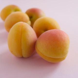 Caramelized Apricot Upside-down Cake.