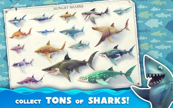 Hungry Shark World apk screenshot