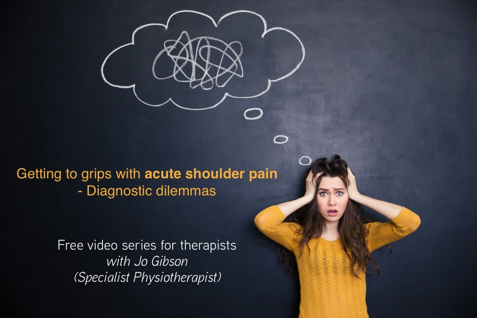 Free shoulder pain video series - Get your access now