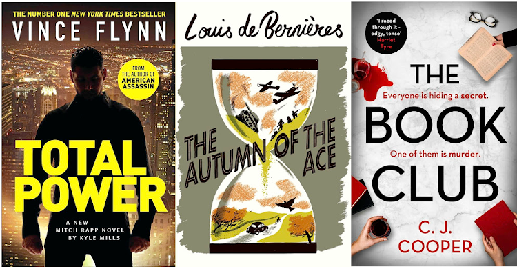 The latest Mitch Rapp novel, Louis de Bernières's remarkable 'The Autumn of the Ace', and a domestic noir in which a book club is more than it seems.