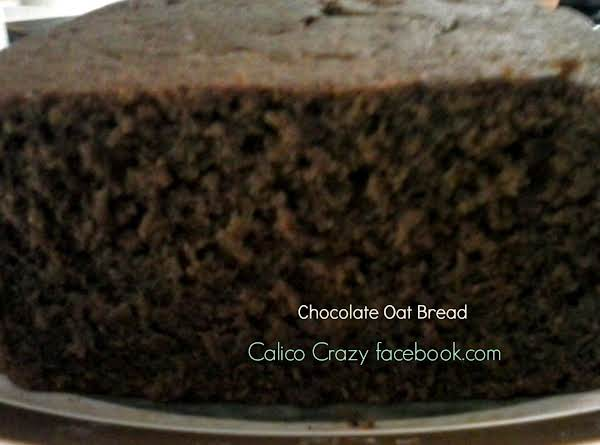 Chocolate Oat Bread Recipe