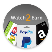 Watch2Earn - Free Paypal Cash & Gift Cards