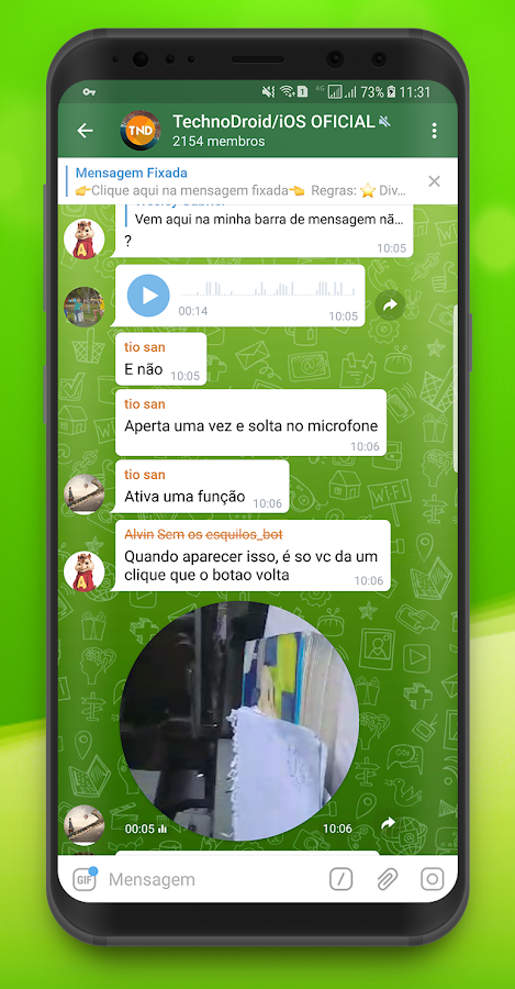 Zap Zap Messenger- screenshot