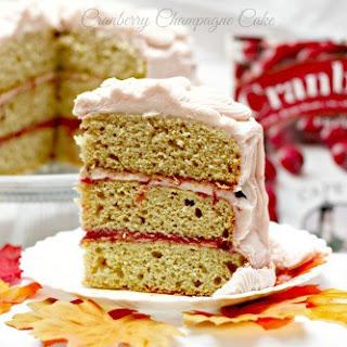 Cranberry Champagne Cake Recipe
