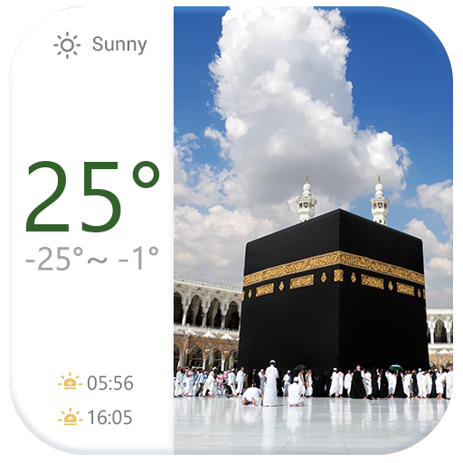 Weather Click Widget Islam 天氣 App LOGO-APP試玩