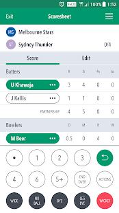 Cricket LiveScore - náhled