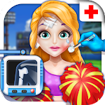 Cheerleader Injury Emergency Icon