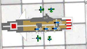 金剛型航空母艦 戦闘中