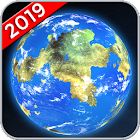 Earth Map Live GPS: Street View Navigation Transit icon
