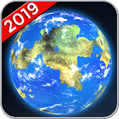 Earth Map Live GPS, Street View Navigation Transit