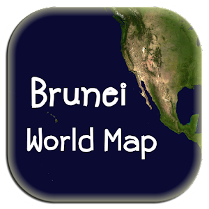 World map brunei android apps on google play world map brunei gumiabroncs Choice Image