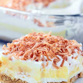 Coconut Cream Dreamboat Dessert.