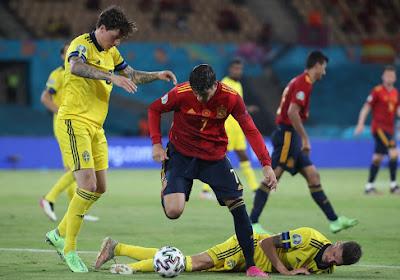 L'Espagne tenue en échec par la Suède