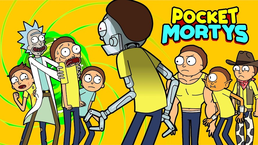 Pocket Mortys - screenshot