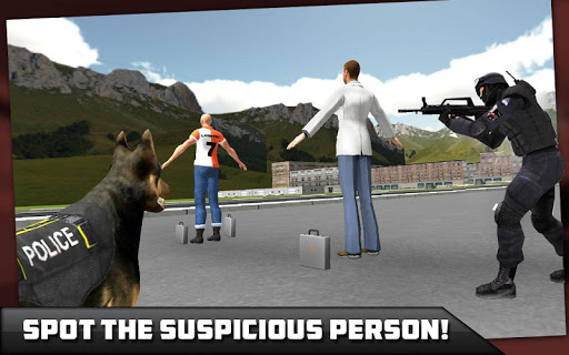 City Airport Police Dog Chase game (apk) free download for Android/PC/Windows screenshot
