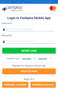 Cashplus Mobile App- screenshot thumbnail
