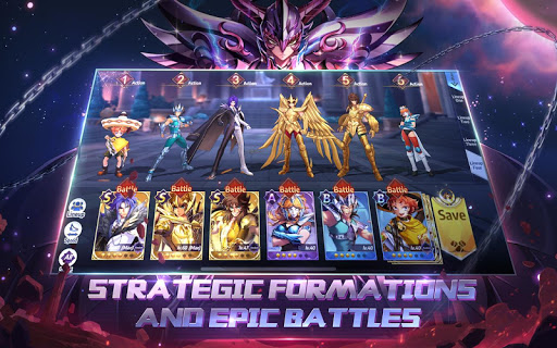Saint Seiya Awakening: Knights of the Zodiac 1.6.45.1 screenshots 20