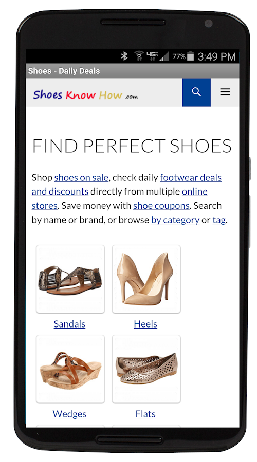 Shoes - Daily Deals & Coupons- screenshot