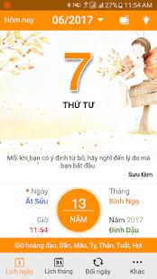 Lich Van Nien - Lich Viet - Lich Am - náhled