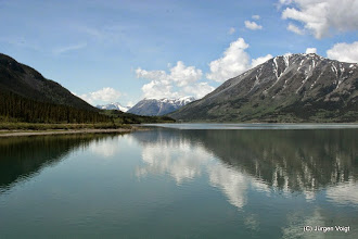 Photo: Carcross. Lake Benett