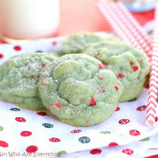 Pistachio Cherry Meltaway Cookies