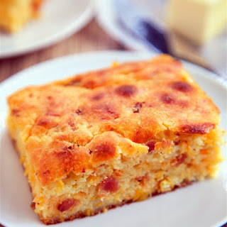 """Cracked Out"" Sour Cream Cornbread"