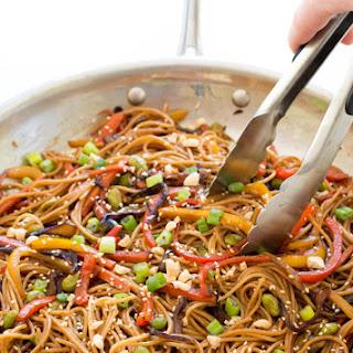 Rainbow Vegetable Stir-Fry