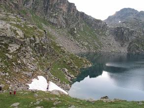 Photo: Vall Fosca:  estany Mar i portell de l'Ós amb el Peguera al fons