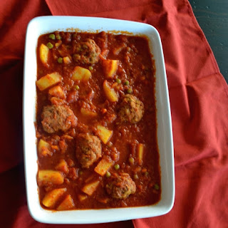 Crock Pot Veal Meatballs Stew Recipe