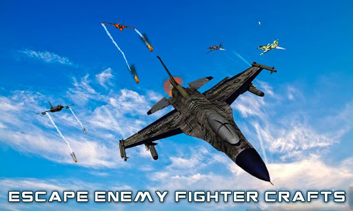 US Air Force Military Pilot Sky Battle 3D filehippodl screenshot 4