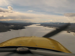 Photo: Williston Lake at the South End of the Trench Route to Watson Lake, Yukon