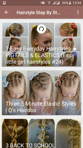 Hairstyles Step By Step For Kids App Report On Mobile Action