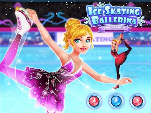 Ice Skating Ballerina: Dress up & Makeup Girl Game 1.0 screenshots 1