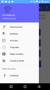 IBRPG App - náhled