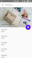 Screenshot of PostalPix Photo Prints