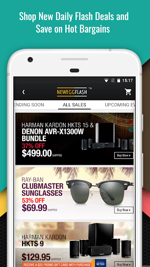 Screenshot 3 for Newegg's Android app'
