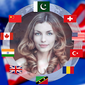 All Countries Face Flags Photo Editor App