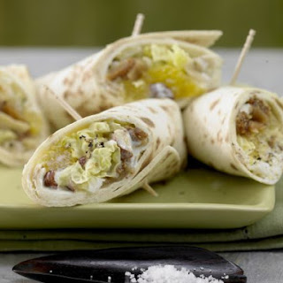 Fruity Chinese Cabbage Wraps.