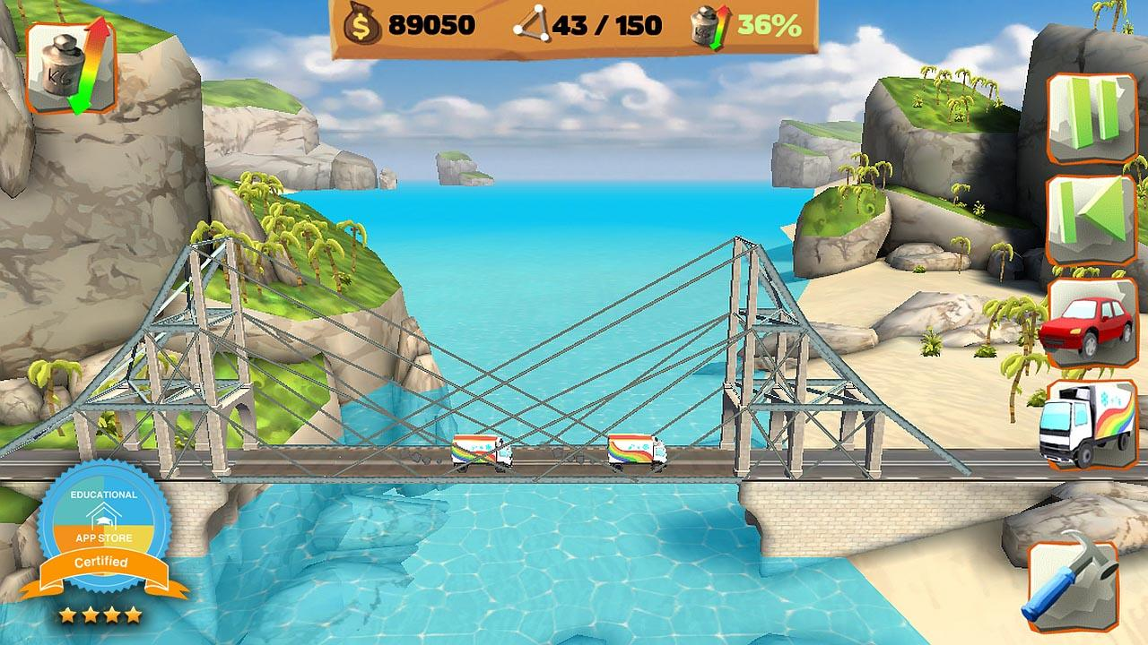 Bridge Constructor Playground screenshot #1