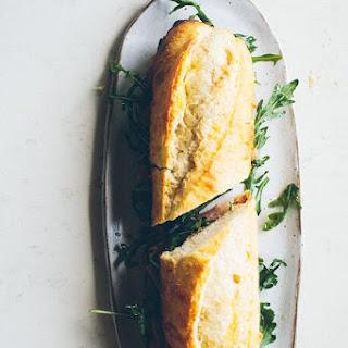 Garlic Confit, Arugula and Prosciutto Sandwich Recipe