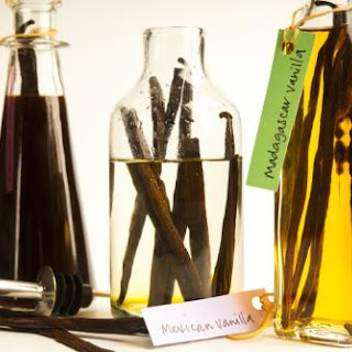 Homemade Vanilla Extract.