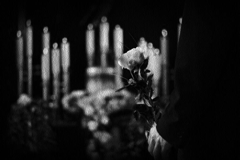 Rito funebre, su tela.. di phpeppefranco