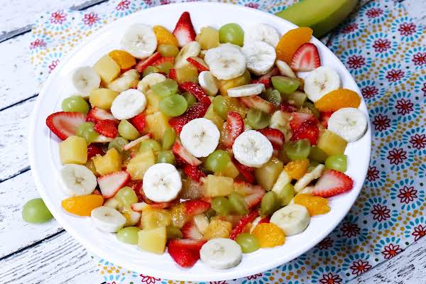 A Big Bowl Of Fruit Salad To Die For.