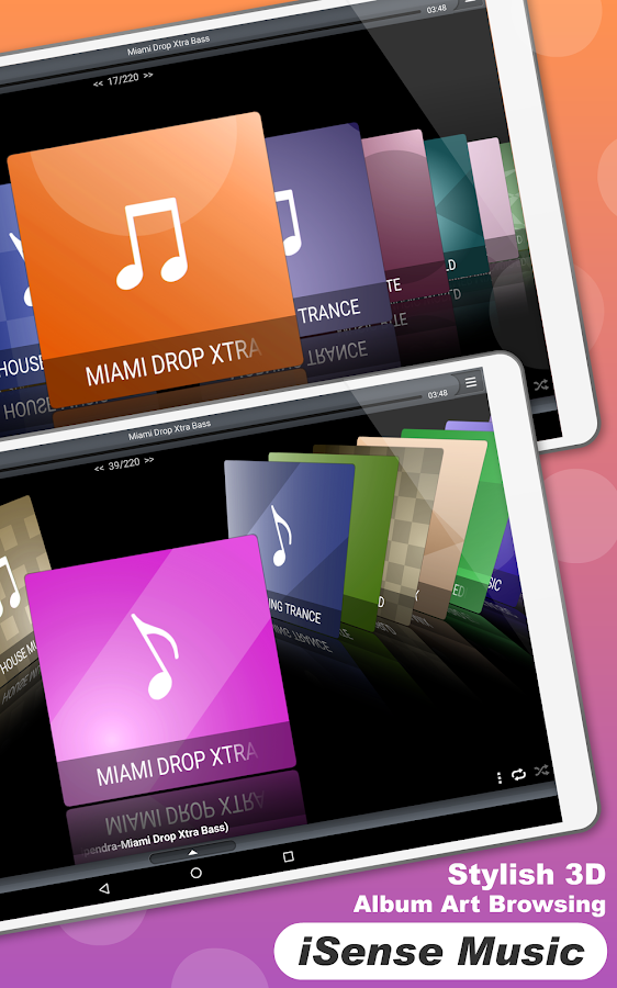 iSense Music - 3D Music Player- screenshot
