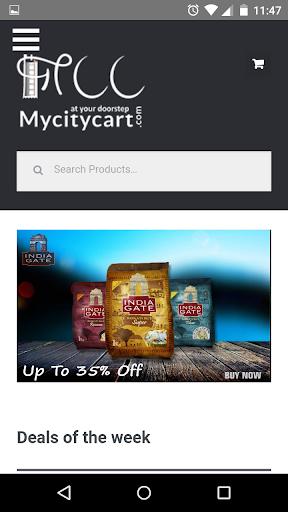 Mycitycart- Online Supermarket