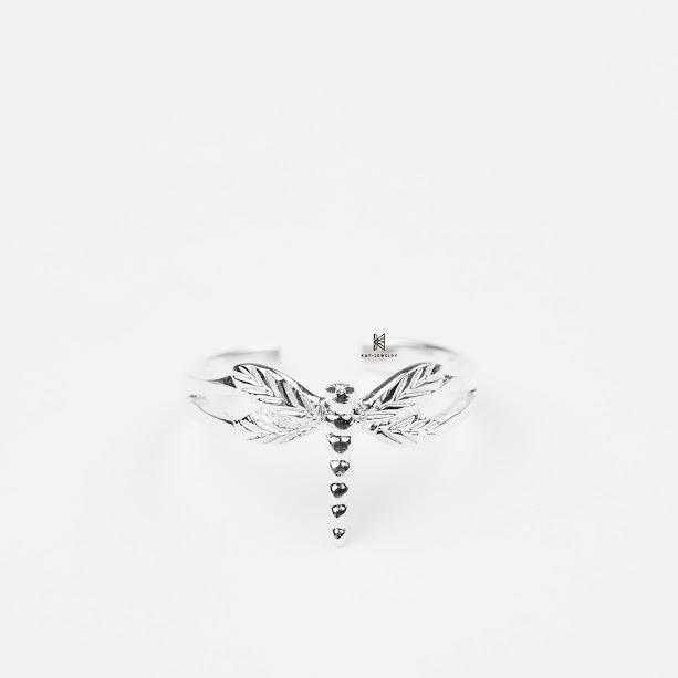 nhẫn bạc cao cấp 925 chuồn chuồn
